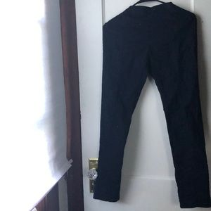 Dark blue casual pants